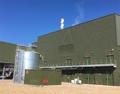 Widmerpool – Biomass Power Plant, Nottinghamshire – Alpha